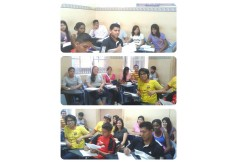 Nuestro alumnos recibiendo clases