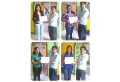 Entrega de diplomas a nuestros estudiantes.