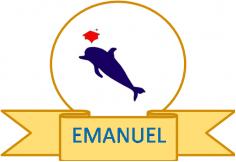 """Logo de nuestra academia. Visitanos en Facebook como: """"Academia Emanuel""""; DALE LIKE y entérate de todas las ofertas de los curso"""
